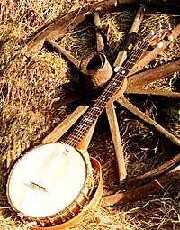 Open-back banjo