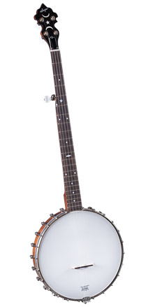 Open-back banjo Saga